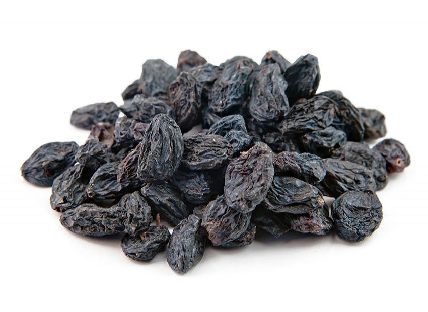 Dried Seeded Black Raisins